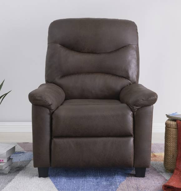 Flipkart Perfect Homes Rosita Leatherette Manual Recliner