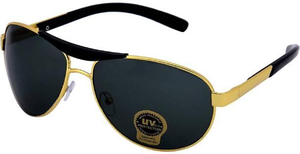 Silver Kartz Oval Sunglasses
