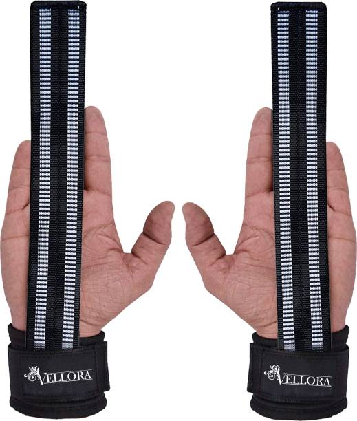 Vellora Wrist Support pair for Weight lifting Gym & Fitness Gloves