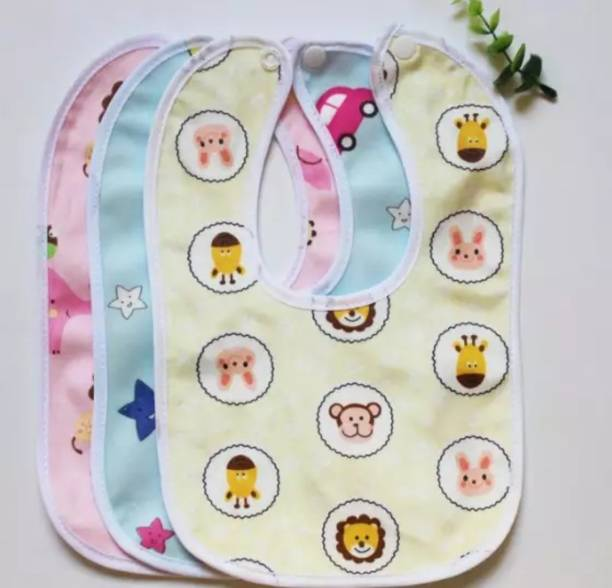 Mom And Son Waterproof Bibs for Babies with Back Side PVC.