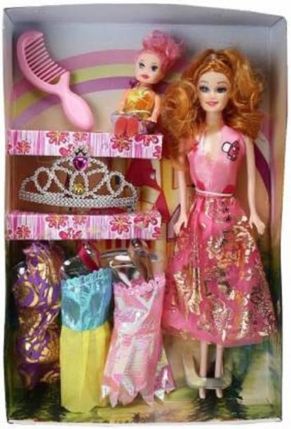 Oraisportsmart Girl's Doll House Set (Multicolor)