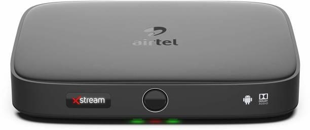 Airtel Xstream box with 1 Year Subscription of Xstream app, Zee5 & Hotstar VIP