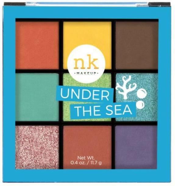 Nicka K NINE COLOR EYESHADOW PALETTE - UNDER THE SEA 11.7 g
