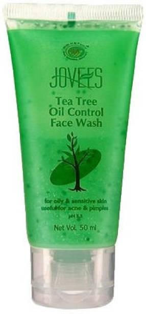 JOVEES Tea Tree Oil Control Oil Face Wash