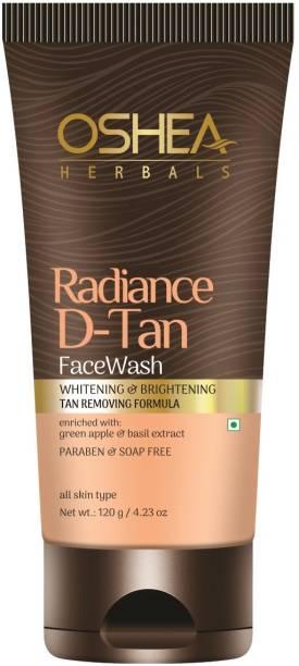 Oshea Herbals RADIANCE D-TAN FACEWASH Face Wash