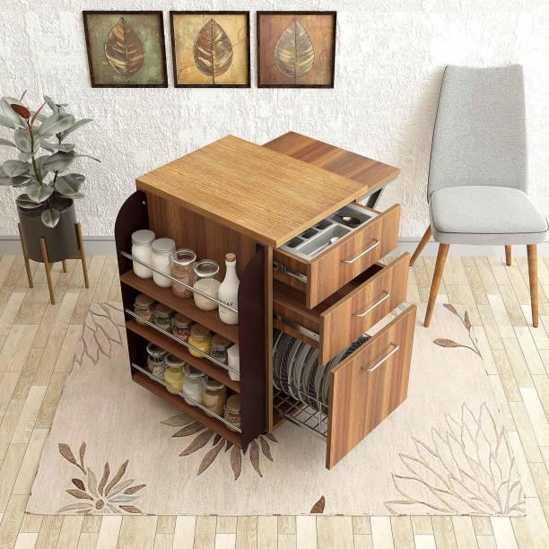Studio Kook Engineered Wood 1 Seater Dining Table