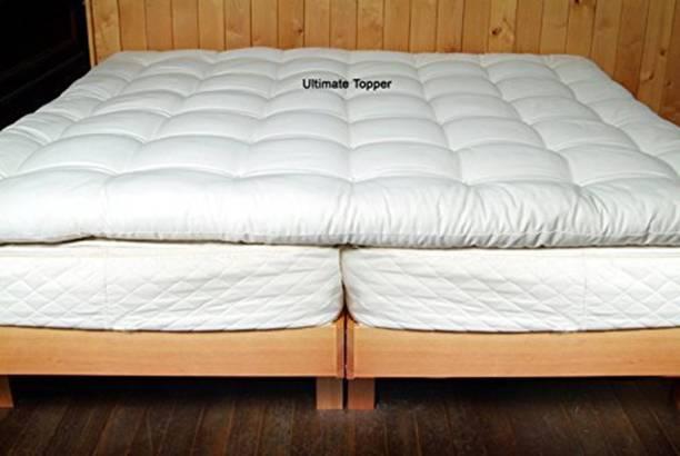 SLEEPREST Mattress Topper King Size Waterproof Mattress Protector