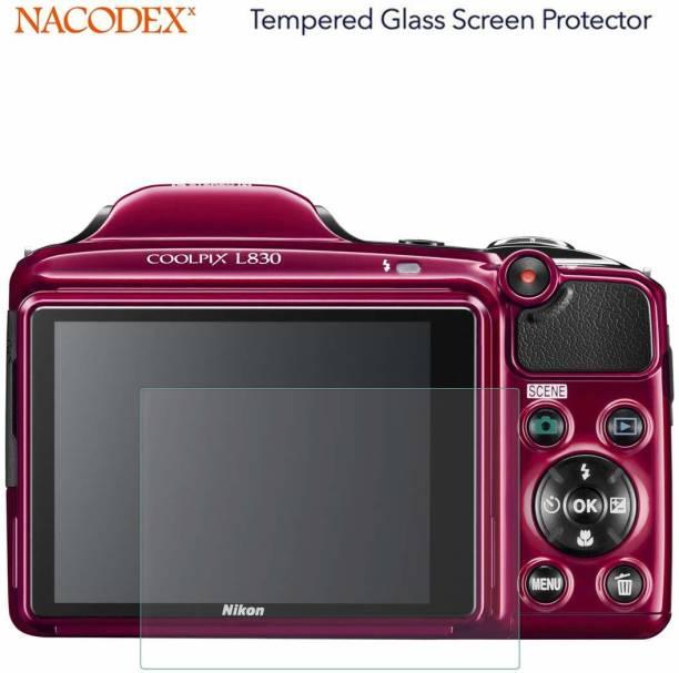 Tuta Tempered Screen Guard for Nikon Coolpix L830 DSR Camera