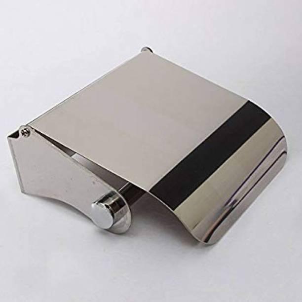 Supreme Bazaar Toilet Paper Holder With Lid Stainless Steel Toilet Paper Holder