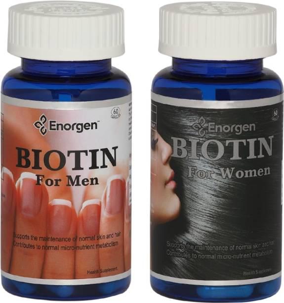 Enorgen BIOTIN For Men & Women,Max Strength 10,000 (mcg)