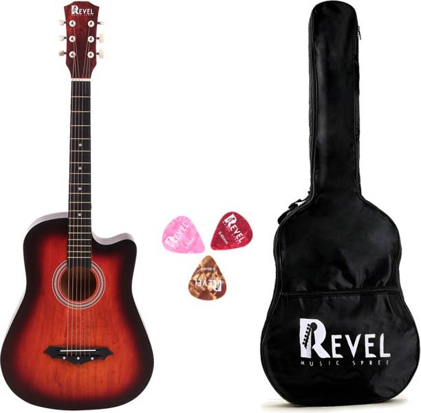 REVEL RVL-38C-LGP-3TS Linden Wood Acoustic Guitar