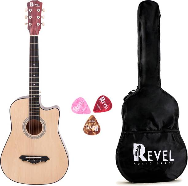REVEL RVL-38C-LGP-NT Linden Wood Acoustic Guitar