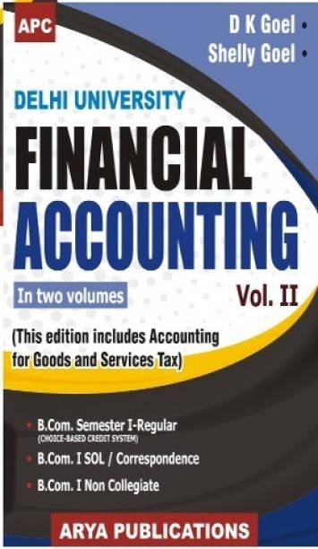 APC Financial Accounting Delhi University