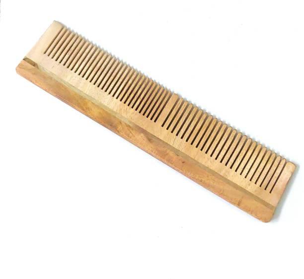ClueSteps Wooden Hair Comb or Wooden Hair Brush For Men & Women