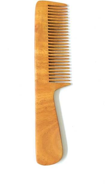 ClueSteps Handle Type Wooden Hair Comb or Wooden Hair Brush For Men & Women