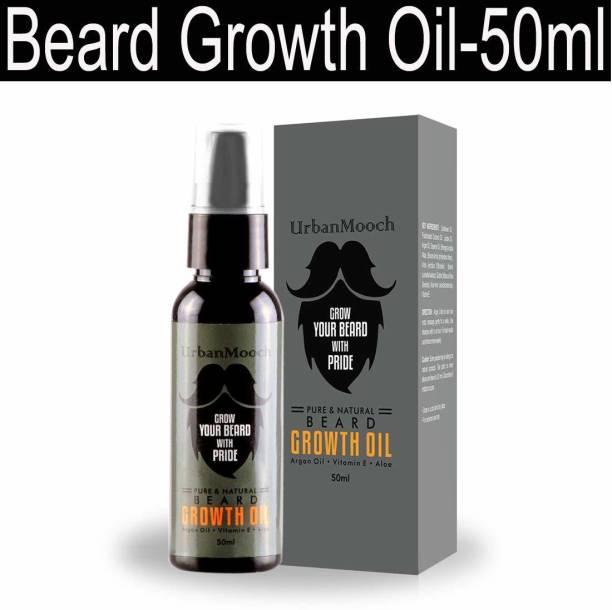UrbanMooch PowerFull Beard Growth Oil & Hair Growth Oil-50ml Hair Oil