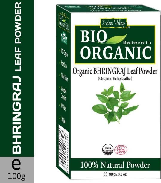 Indus Valley Bio Organic 100% Natural Bhringraj Powder