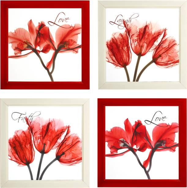 Indianara Flowers 2134 Digital Reprint 9.5 inch x 9.5 inch Painting