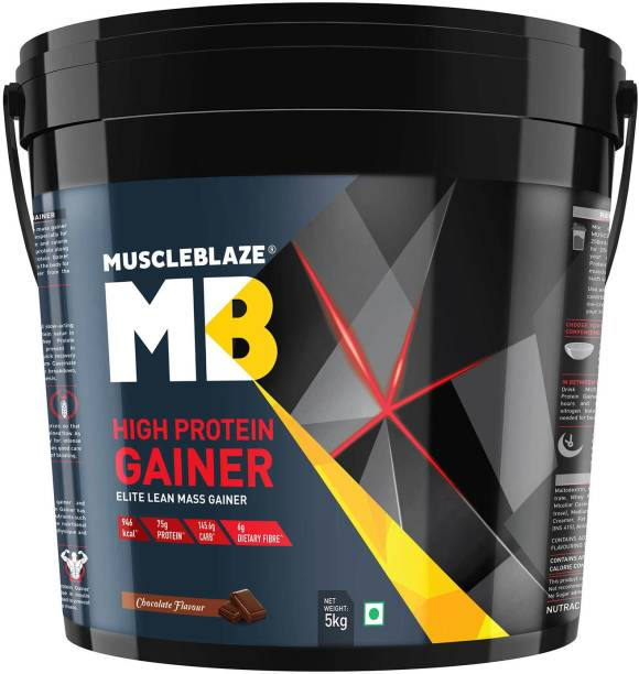 MUSCLEBLAZE High Protein Elite Lean Weight Gainers/Mass Gainers