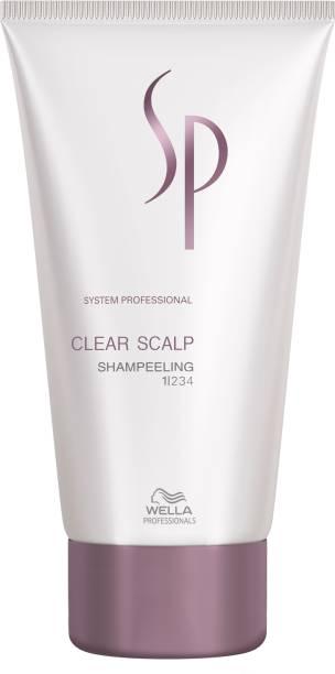 Wella Professionals SP Clear ScalpShampeelingFor Dandruff &StubbornScalp