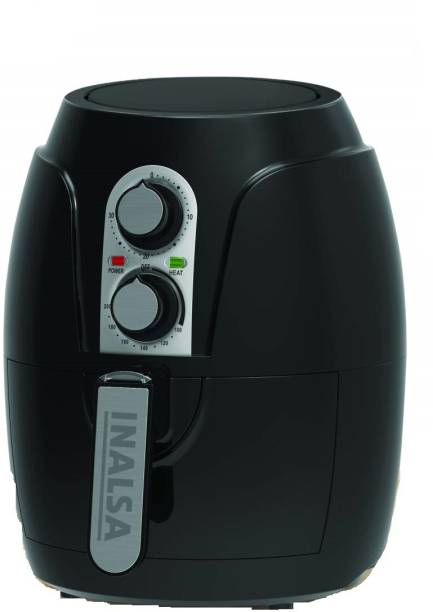 Inalsa Crispy Fry with Smart Rapid Air Technology Air Fryer