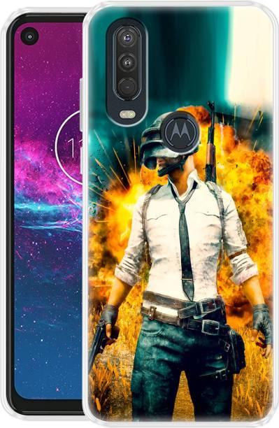Fashionury Back Cover for Motorola One Action