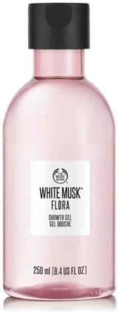 THE BODY SHOP White musk flora shower gel