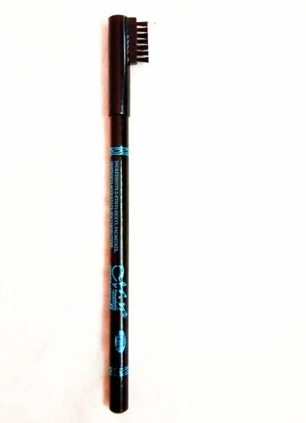 NAACHAAS Waterproof Long Lasting Eyebrow Pencil (Black)[Pack of 1]
