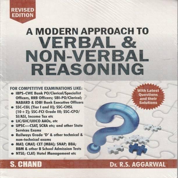 R S Aggarwal Verbal And Non Verbal Reasoning
