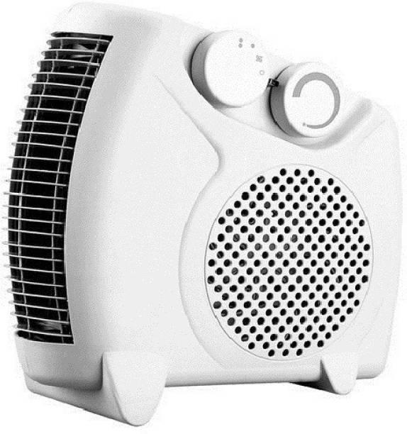 Enamic UK Laurels Fan Heater Heat Blow || Silent Fan Room Heater (White) | M-01 Fan Room Heater Fan Room Heater