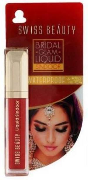 SWISS BEAUTY Red Bridal Red Liquid Sindoor Sindoor (Red) Liquid