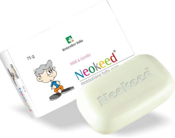 Neokeed Moisturizing Baby Soap 75 g (Pack of 4)