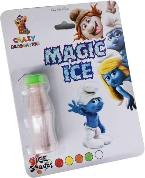 VK MART Magic Ice Cold Powder (Pack of 1) Magic Kit Gag Toy