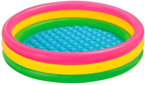 Aavkar creation 3 feet Kid's Swimming Pool / Water Pool Bath Tub / Kiddie Pool Bath Toy