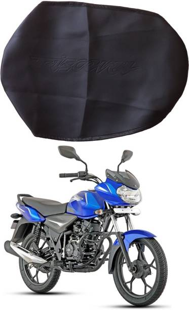 BikenWear Premium Quality Single Bike Seat Cover For Bajaj Discover, Discover 100 DTS-i, Discover 125 DTS-i