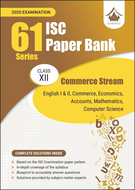 61 Paper Bank - Commerce: ISC Class 12 for 2020 examination