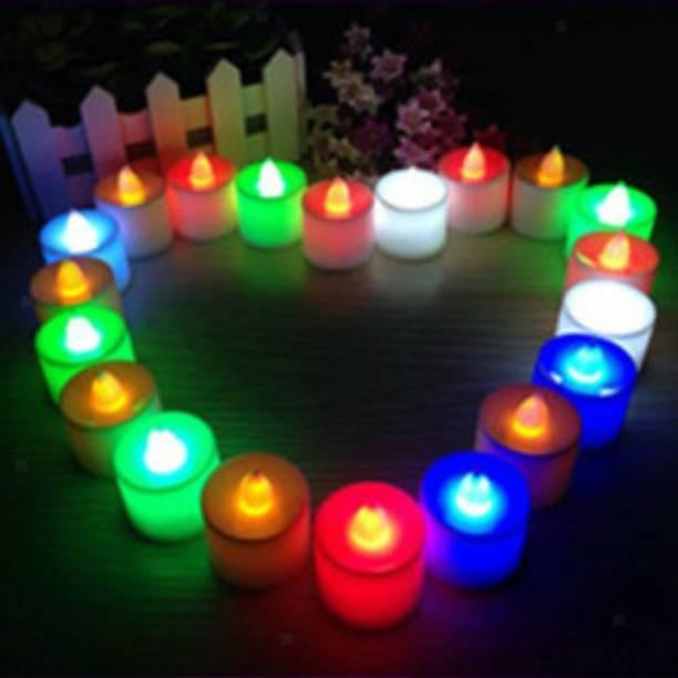 DEEPAK LED Light Electronic Flicker Flameless Candle Candle