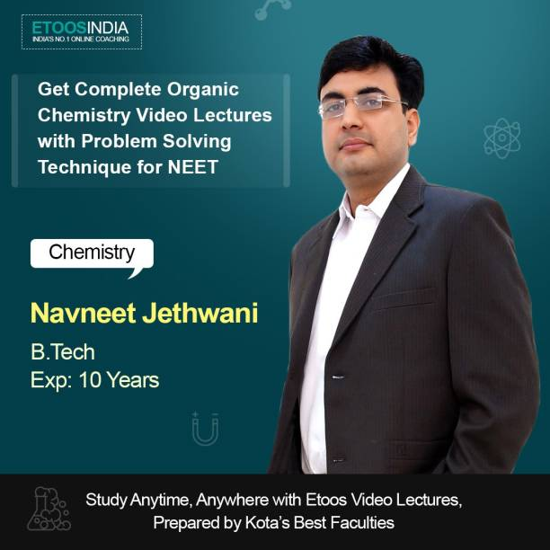 ETOOSINDIA NEET Organic Chemistry with Problem Solving Techniques for Class 11th by NJ Sir