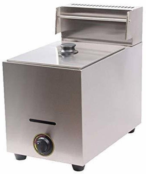 froth & flavor COMMERCIAL GAS FRYER 11 LITRES 11 L Electric Deep Fryer