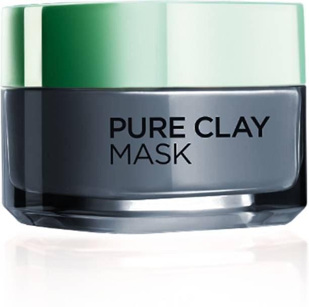 L'Oreal Paris Paris Pure Clay Mask, Detoxify with Charcoal