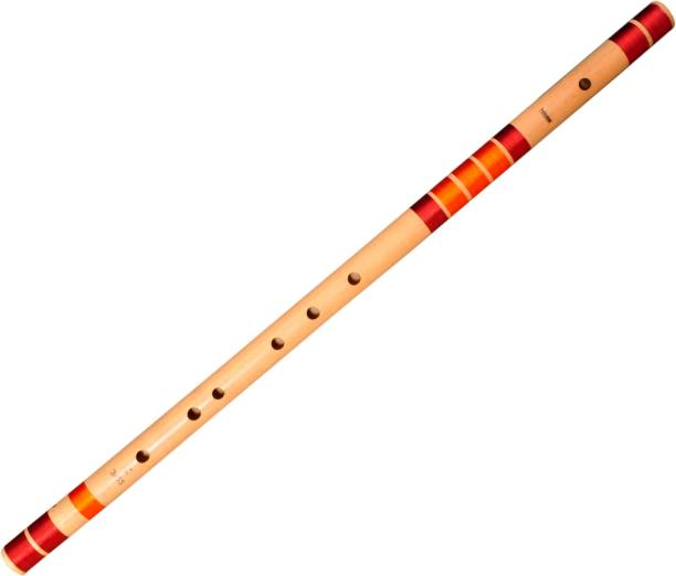 Foxit E Natural Base Right Hand Bansuri Size 30 inches Bamboo Flute