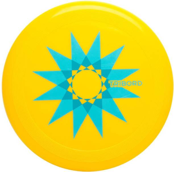 DECATHLON FRISBEE RING FOR KIDS FLYING DISC FOR KIDS YELLOW Plastic Sports Frisbee