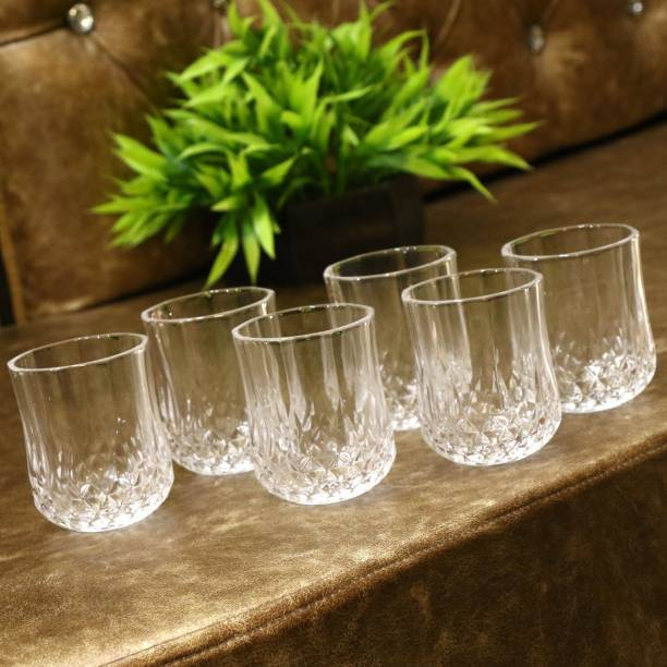 AFAST (Pack of 6) Multi-Purpose Beaver Tumbler Drinking Glass Set for Home Use (Set Of 6 ) -HU48 Glass