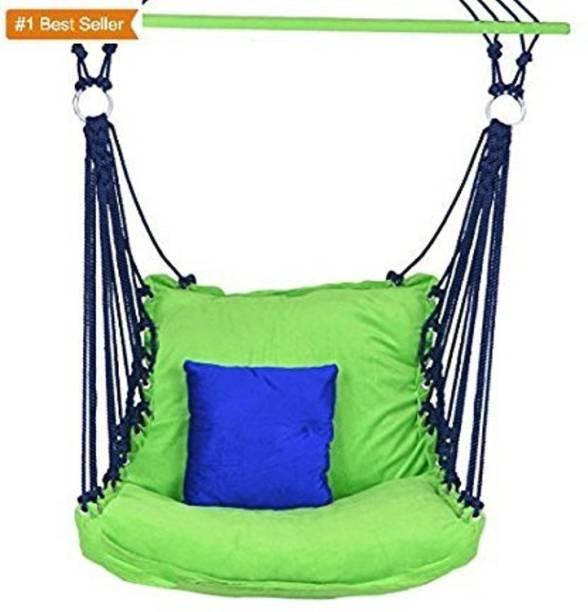IRA Adult Swing Hammock With Cushion Cotton Swing