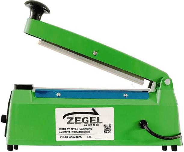 Zegel 8 inches Plastic Heavy Duty PB Heat Sealer Table Top Heat Sealer