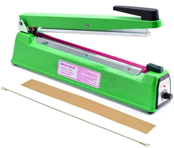 Zegel 12 inches Plastic Heavy Duty PB Heat Sealer Table Top Heat Sealer