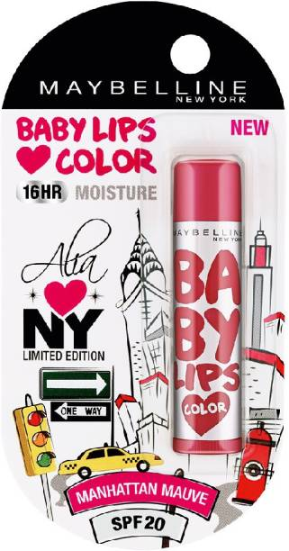 MAYBELLINE NEW YORK Alia Loves NY Lip Balm manhattan mauve