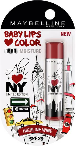 MAYBELLINE NEW YORK Alia Loves NY Lip Balm High line wine