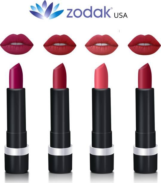 ZODAK pack of 4 (Ruby Red, Metallic, Cherry Red, Metallic)