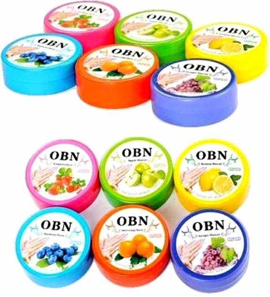 OBN Nail Polish Remover Tissue Pads Wet Wipes Pack of 12